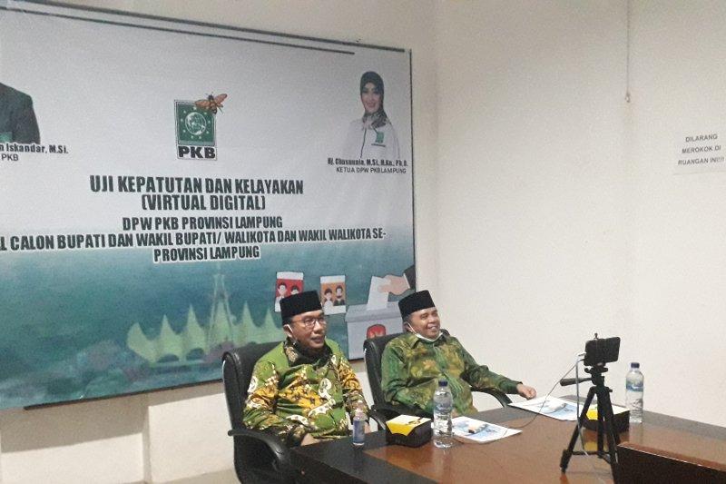 Cabup-Cawabup Waykanan melakukan Fit and Proper Test di DPW PKB Lampung