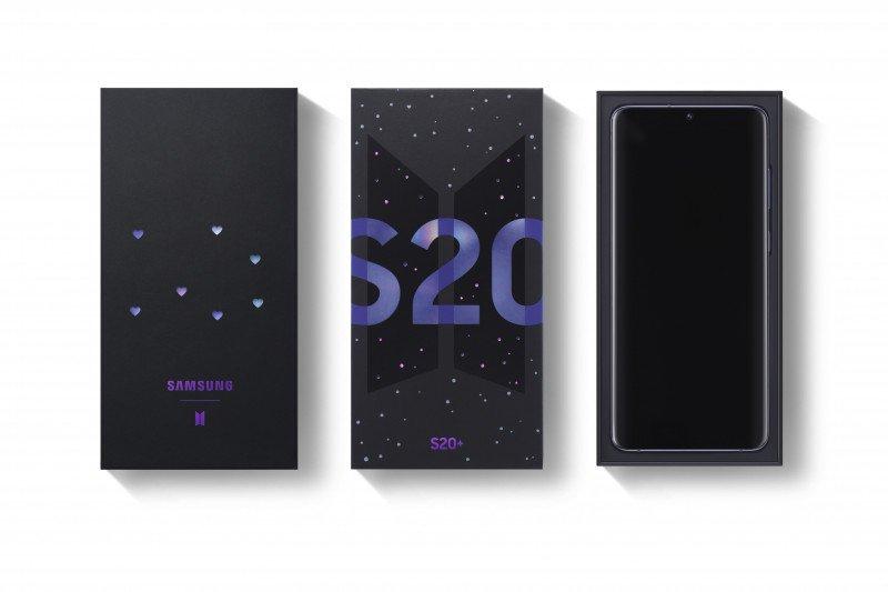 Ini harga ponsel Samsung Galaxy S20+ edisi BTS