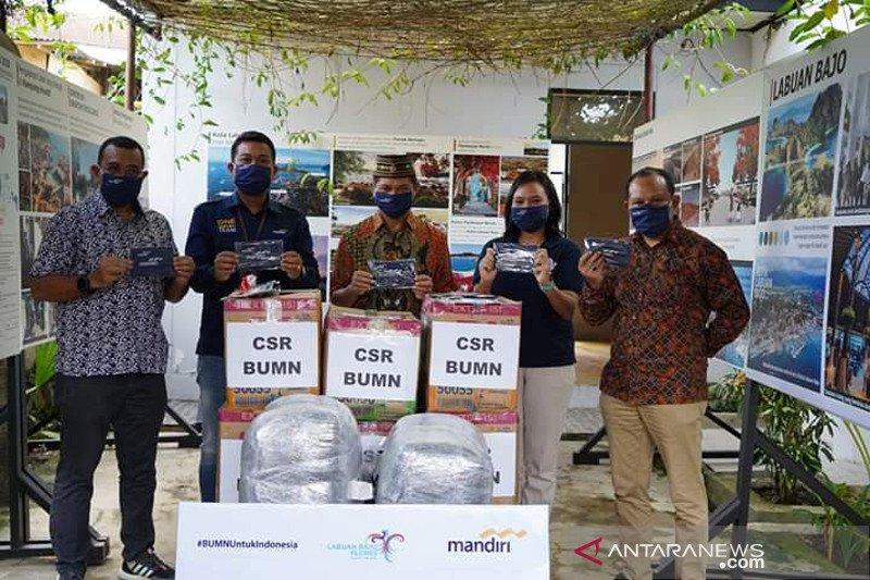 Bantuan Bank Mandiri untuk Labuan Bajo difokuskan ke jalur wisata