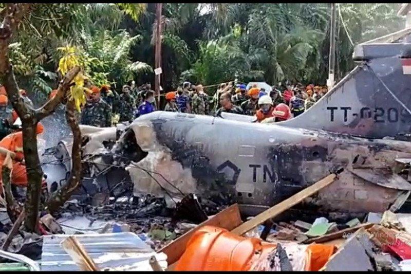Kasau menuju Riau terkait insiden pesawat tempur jatuh