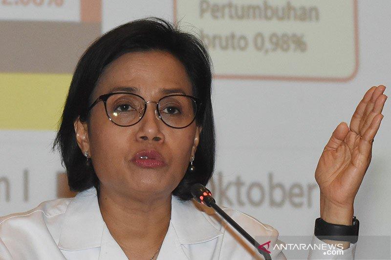 Menkeu Sri Mulyani: Belanja negara hingga Agustus 2020 tumbuh 10,6 persen