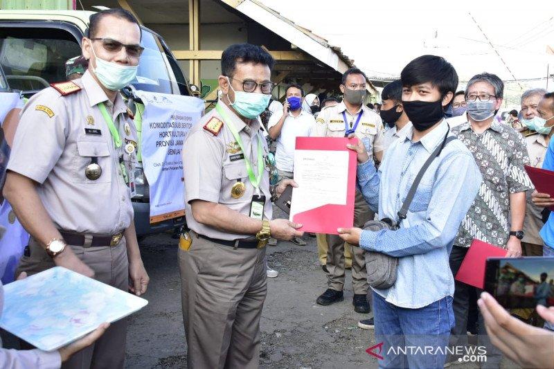 Mentan lepas ekspor 6 komoditas unggulan Jawa Barat