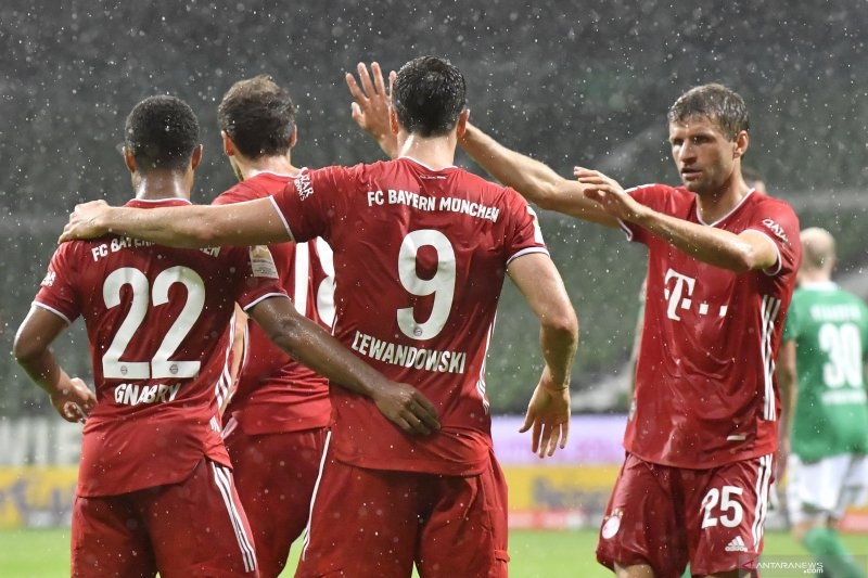 Klasemen Liga Jerman, Bayern kunci gelar juara