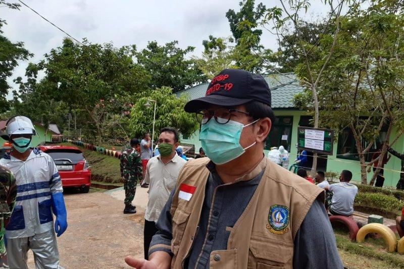 Tim medis telusuri riwayat penularan delapan pegawai KKP Batam