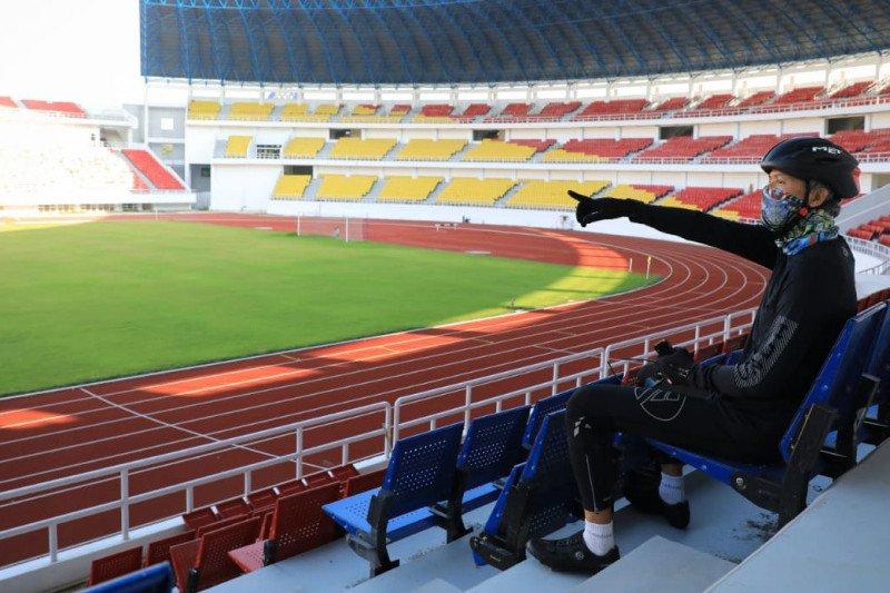 Ganjar pastikan pembangunan arena olahraga di Stadion Jatidiri selesai 2021