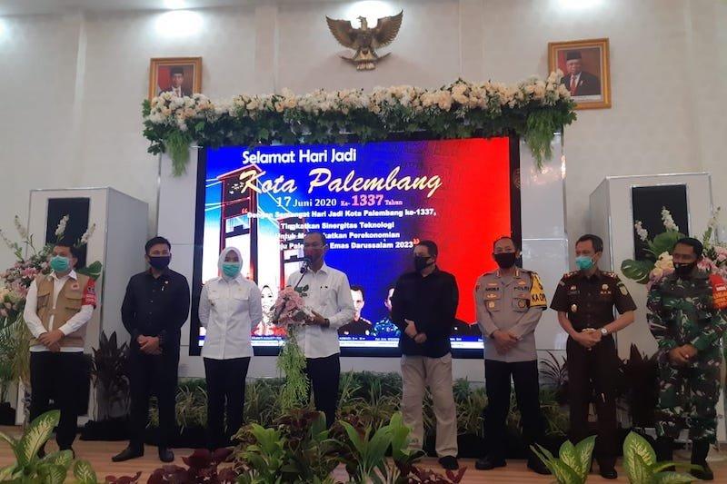 Palembang resmi hentikan PSBB