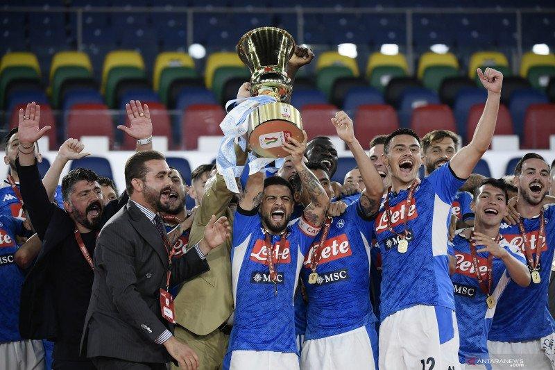 Keenam kalinya Napoli menangi gelar Piala Italia
