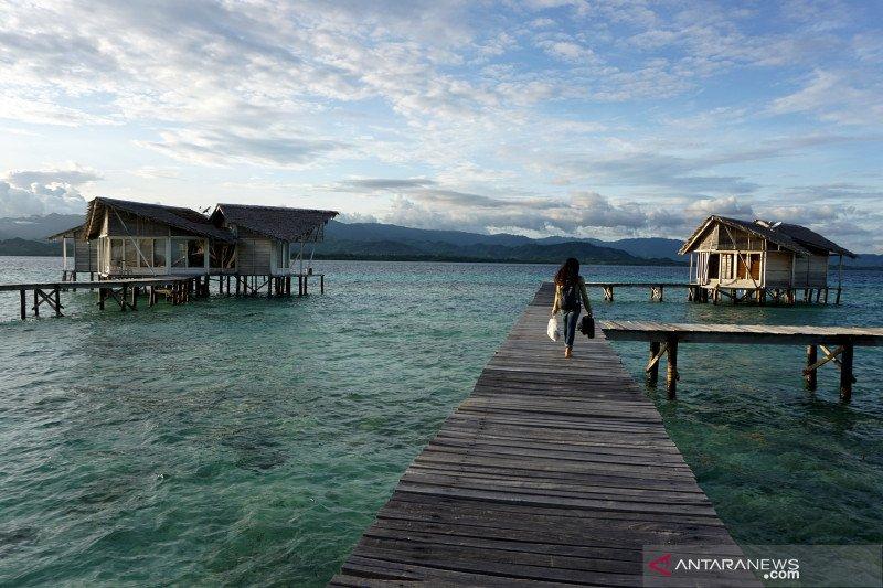 Pulo Cinta Eco Resort di Gorontalo kembali dibuka