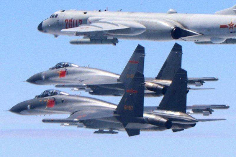 Pesawat militer China terbang di wilayah Taiwan
