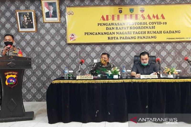 Nagari Tageh Rumah Gadang Padang Panjang dicanangkan dukung penerapan normal baru