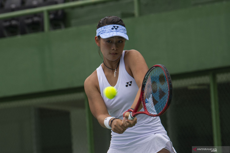 Petenis Priska Nugroho target Top 10 ITF Junior