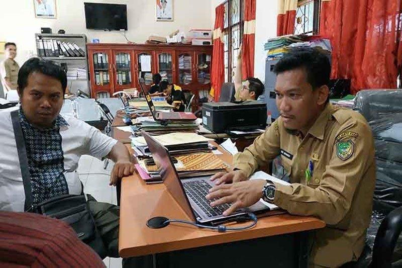 Kepsek TK, SD dan SMP  di Barito Utara dilantik, Senin