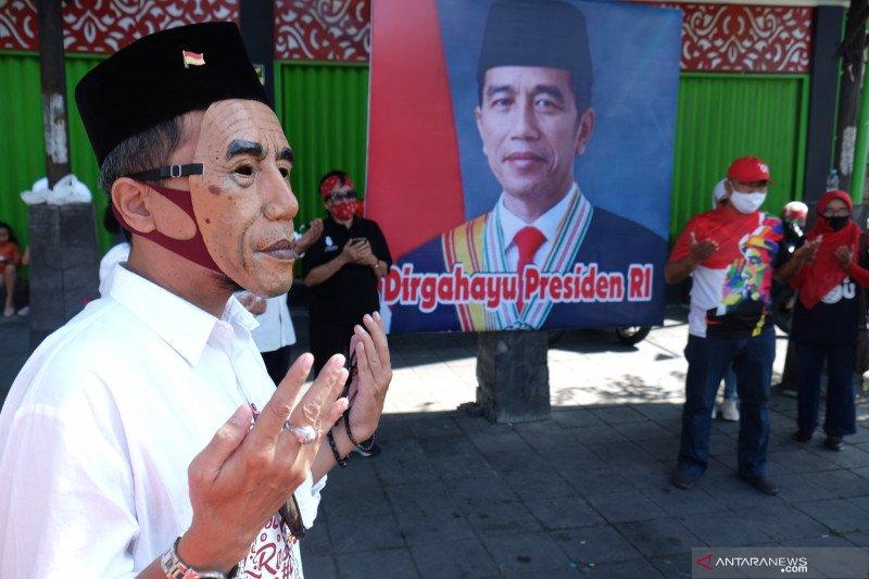 Jokowi sampaikan ucapan terima kasih atas perhatian dan doa di hari ulang tahunnya