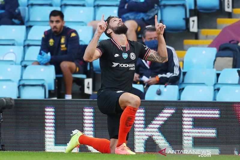 Chelsea tundukan Villa dengan cetak dua gol dalam tiga menit