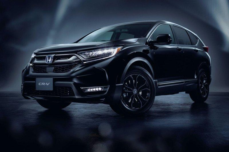 Honda CR-V Black Edition kini hadir di Jepang
