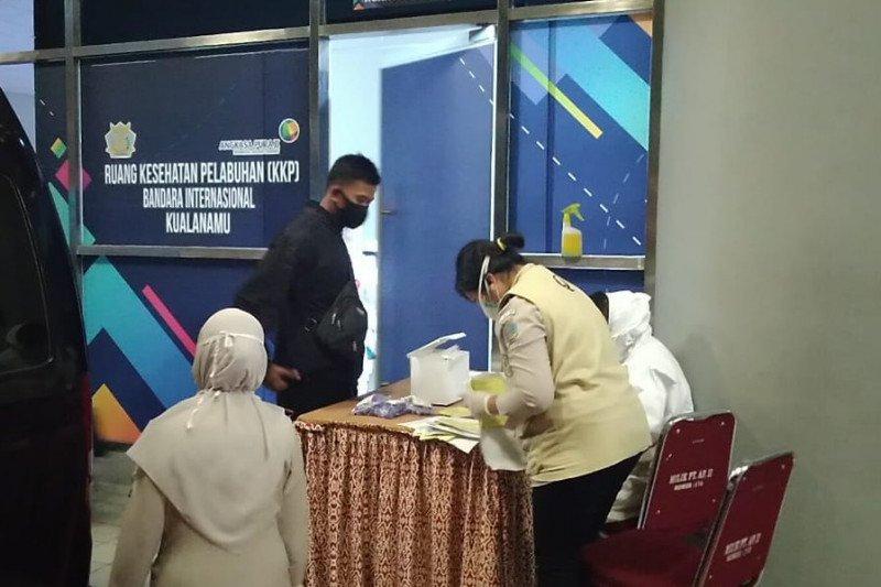 152 WNI dideportasi dari Malaysia tiba di Bandara Kualanamu
