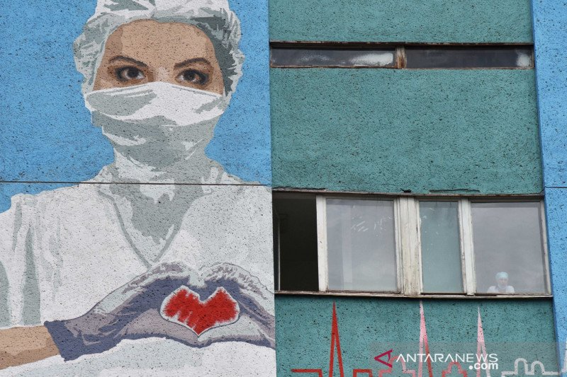 Ukraina  'lockdown', tutup sekolah dan restoran