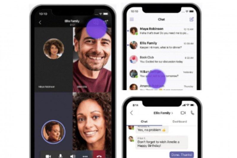 Microsoft siapkan Teams personal, saingi zoom