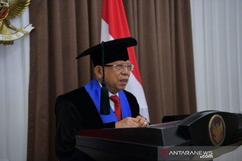 Wapres Ma'ruf Amin harap ekonomi syariah berkembang cepat di Indonesia
