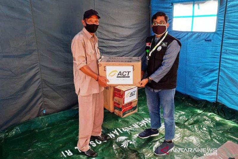 ACT salurkan bantuan untuk korban kebakaran di Bukittinggi