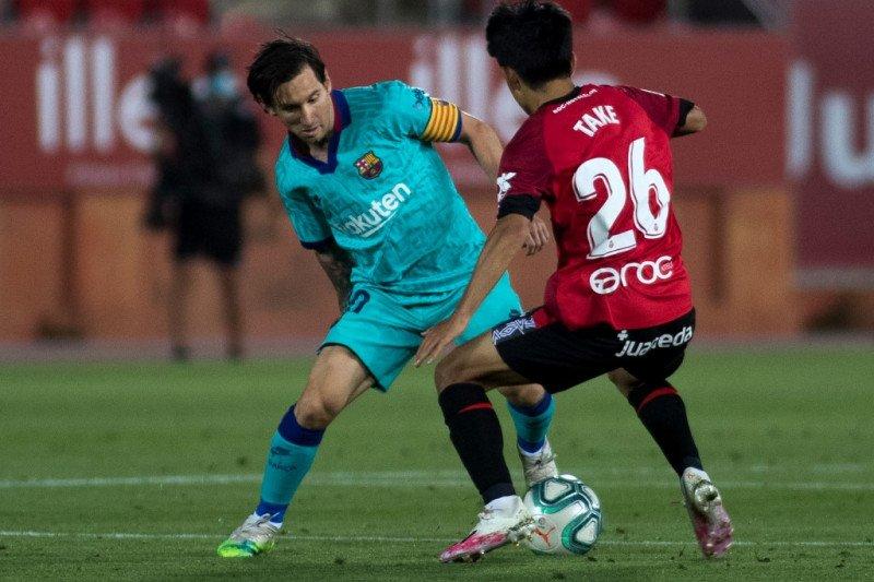 "Duel lawan Mallorca pantau ""Messi dari Jepang"""