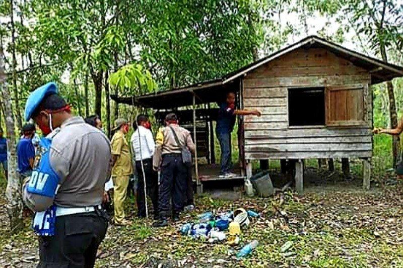 Seorang pria di Pulang Pisau ditemukan tewas di sebuah pondok