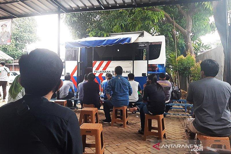 Gerai SIM Keliling tersebar di lima lokasi Jakarta