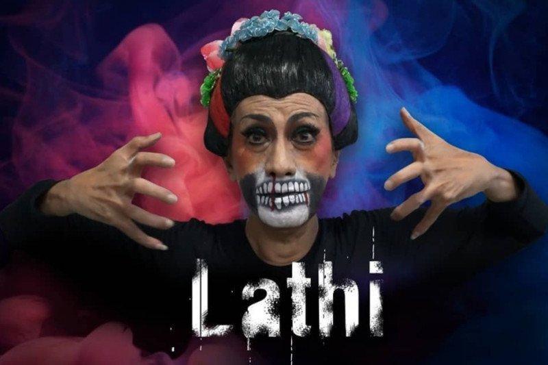 Didik Nini Thowok meramaikan Lathi Challenge