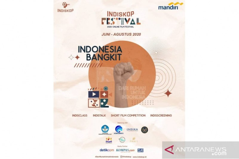 Indiskop Film Festival 2020 digelar online