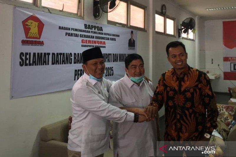 Ketua PKB Karawang ikuti tes bakal calon bupati di Partai Gerindra