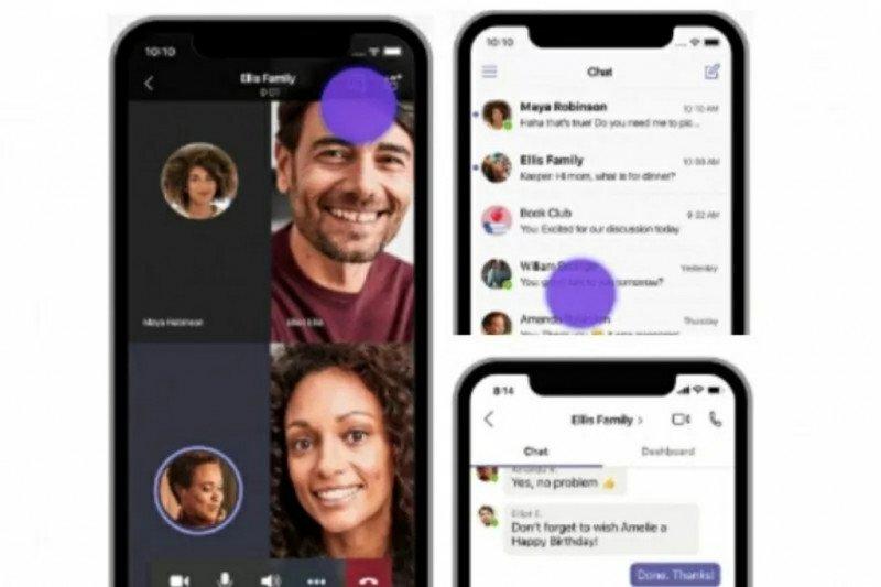 Microsoft bertekad jadi terbaik pada  aplikasi telekonferensi