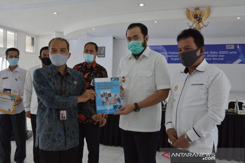 Partisipasi warga Padang Panjang dalam sensus penduduk daring tertinggi di Sumbar