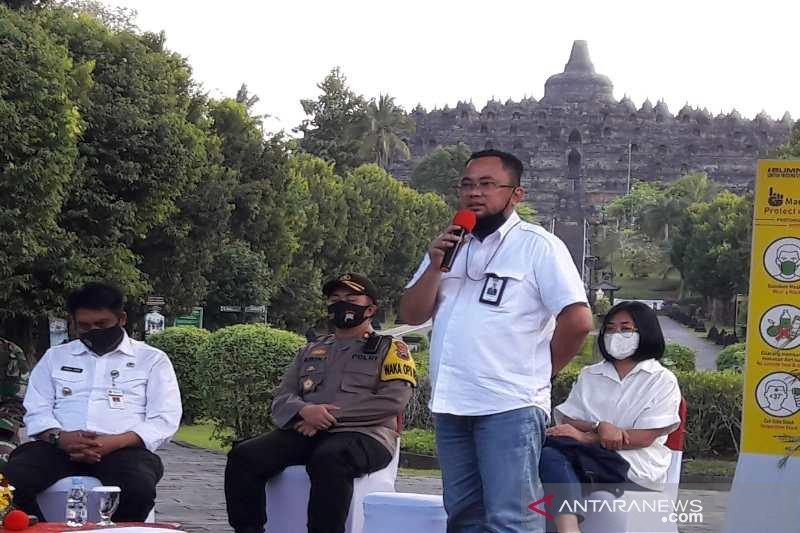 Candi Borobudur uji coba operasional