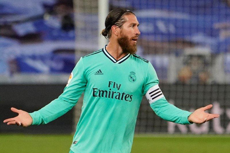 Zidane ingin Sergio Ramos sampai pensiun di Real Madrid