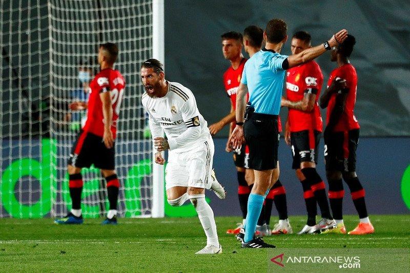 Tekuk Mallorca, Madrid kembali ke puncak klasemen La Liga
