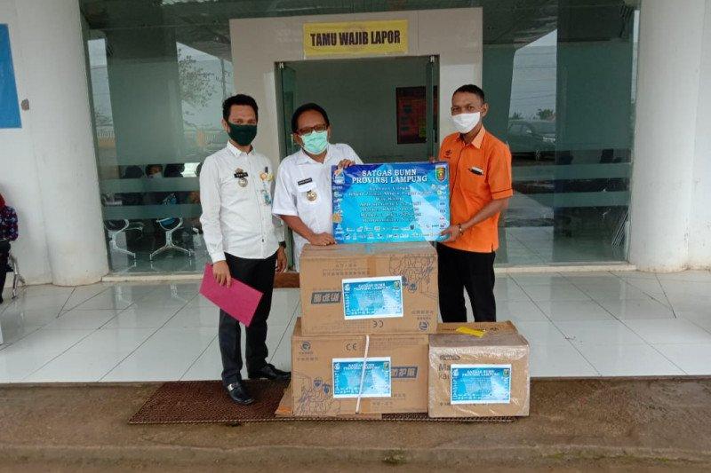 Bupati Adipati  berterima kasih atas bantuan Satgas BUMN Lampung