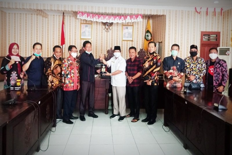 DPRD Seruyan studi tiru perda penyertaan modal ke Kotim
