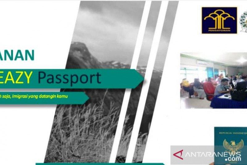 """Imigrasi Palembang kembangkan layanan """"eazy passport"""""""