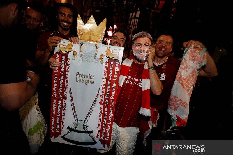 Ini daftar juara Liga Inggris, Liverpool sudahi penantian tiga dasawarsa