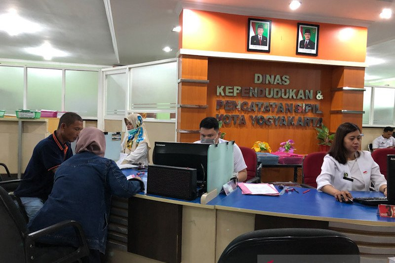 "Dindukcapil Yogyakarta menyiapkan layanan ""drive thru"" cetak e-KTP"