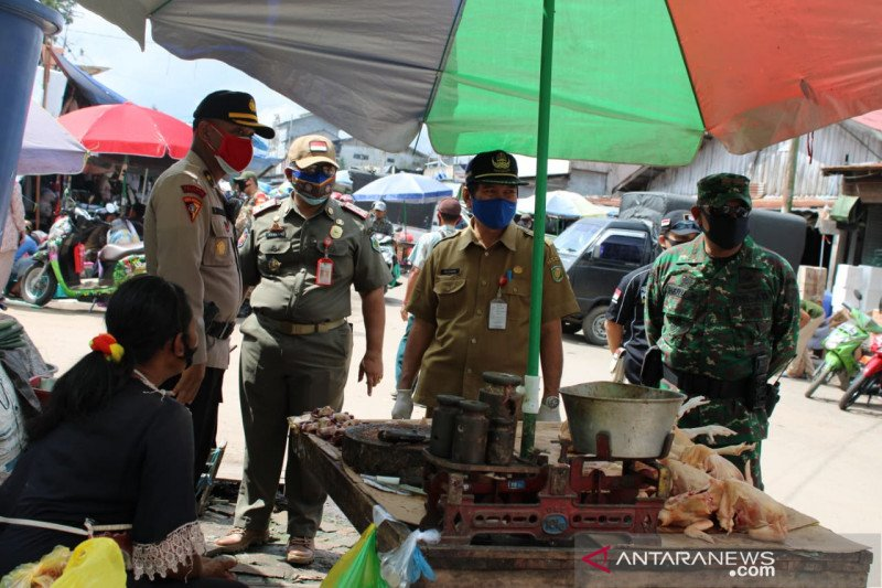 Pedagang di Palangka Raya diminta beradaptasi dengan protokol kesehatan