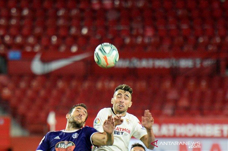 Sevilla ditahan imbang  Valladolid
