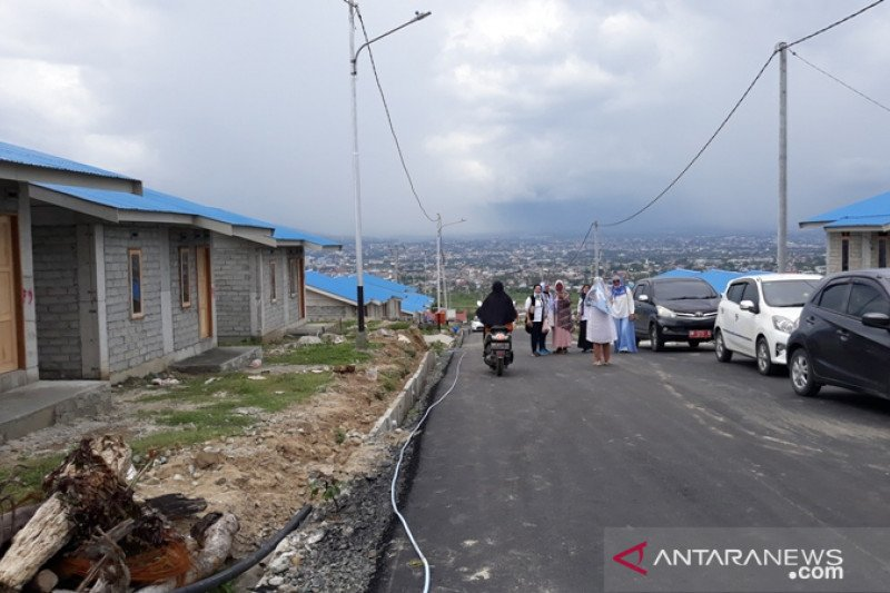 Denyut kehidupan baru  di hunian tetap baru korban bencana Palu