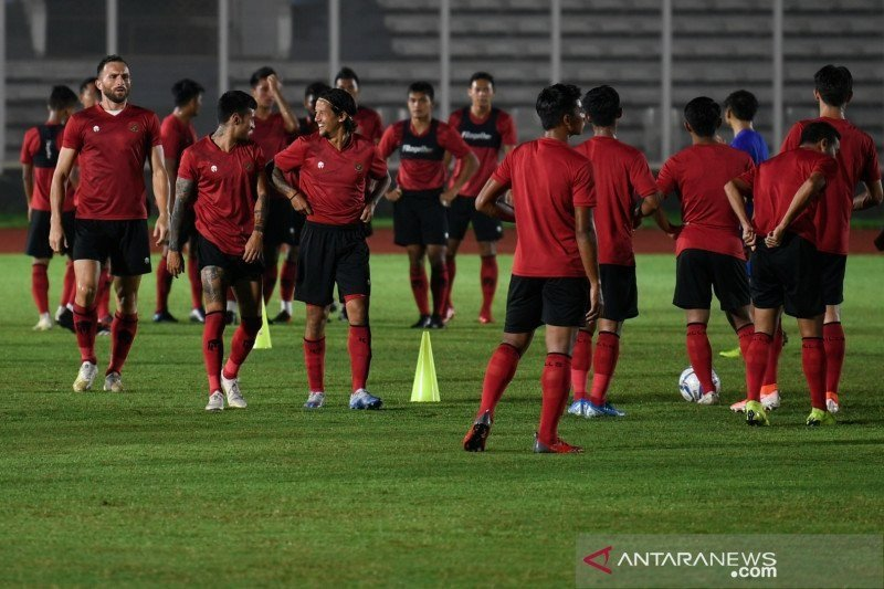 """Timnas Indonesia masih menanti hasil """"swab test"""" COVID-19"""