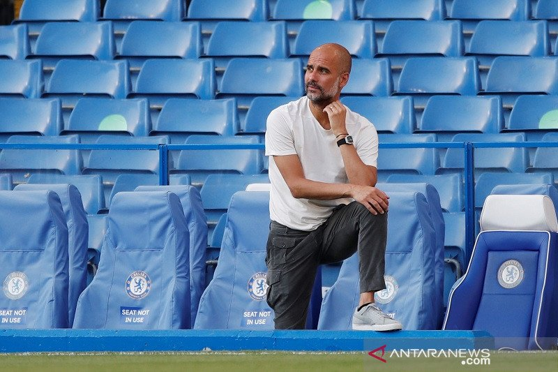 Pep Guardiola tertantang songsong musim ke-5 latih Manchester City