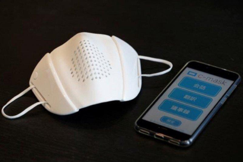 C-Mask, masker cerdas terkoneksi internet