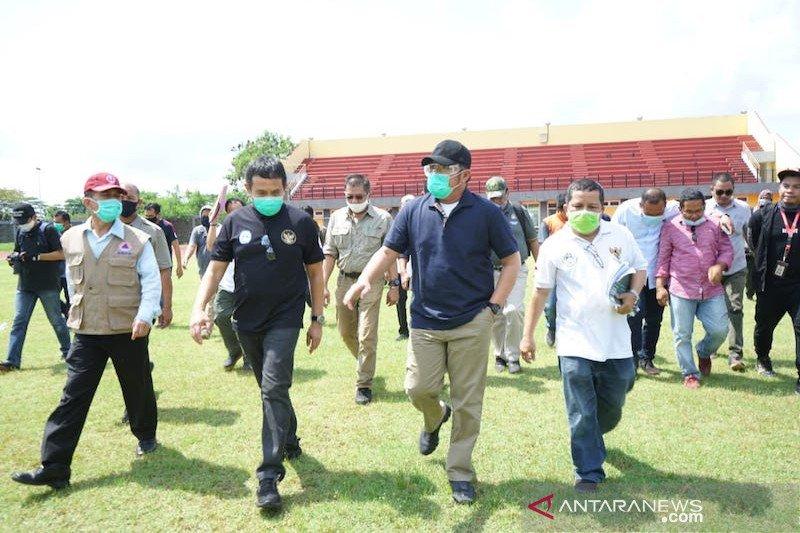 Herman Deru optimistis Stadion Jakabaring jadi pilihan FIFA
