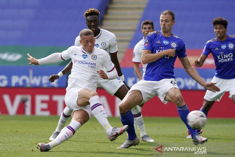 Taklukkan Leicester City, Chelsea melaju ke semifinal Piala FA