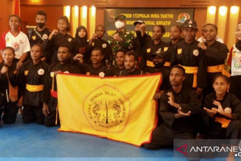 Danrem 172/PWY dukung pengembangan pencak silat di Papua