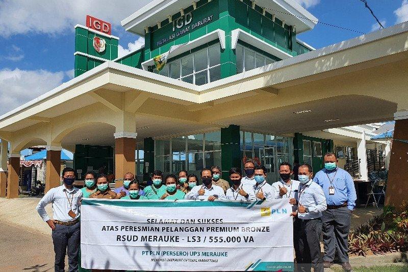 PLN Papua resmikan layanan premium di RSUD Merauke